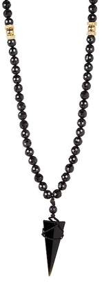 März Faceted Stone CZ Pendant Necklace
