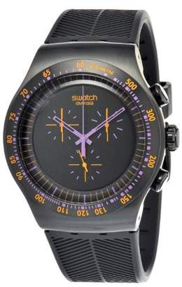 Swatch Men's YOB102 Stainless Steel Dial Chronograph Watch