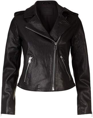 AllSaints Hadi Leather Jacket