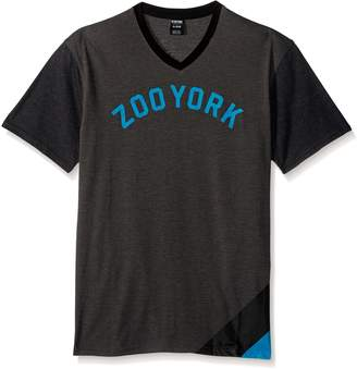 Zoo York Men's Short Sleeve Impulse V Neck Knit Shirt