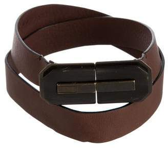 Marni Leather Push-Lock Belt