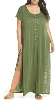 Leith Henley Cover-Up Dress