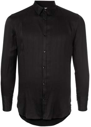 Saint Laurent striped skinny fit shirt