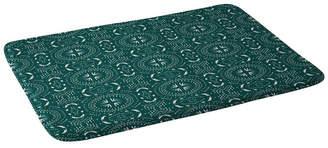 Deny Designs Holli Zollinger Mandala Tile Marine Bath Mat Bedding
