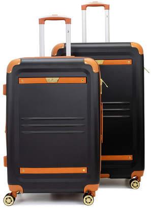 V19.69 Italia Retro 2 Piece Expandable Hard Spinner Luggage Set
