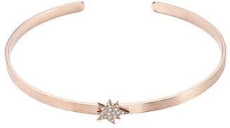 Diane Kordas Explosion 18kt Rose Gold Bracelet with White Diamonds