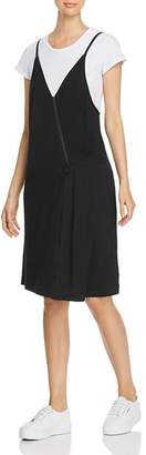 Kenneth Cole Mixed Media Two-Piece Dress