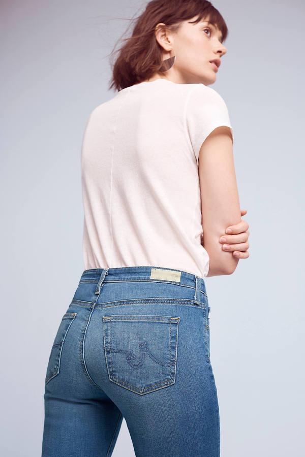 AG JeansAG Prima Mid-Rise Skinny Jeans