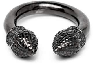 Durrah Jewelry - Graphite Cylinder Ring