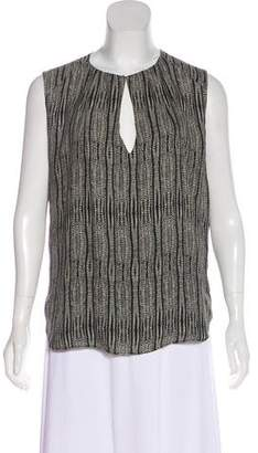 L'Agence Printed Sleeveless Top