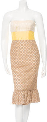 Tracy Reese Strapless Sheath Dress w/ Tags $115 thestylecure.com