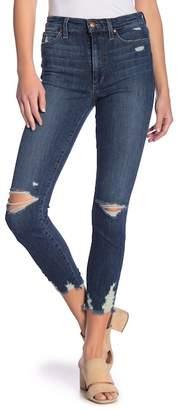 Joe's Jeans Charlie Destroyed Front Skinny Ankle Jeans