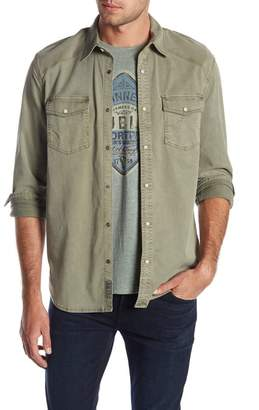 Lucky Brand Workwear Western Slim Fit Woven Shirt