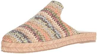 Kaanas Women's Sacramento Woven Slide Mule Shoe Espadrille Wedge Sandal