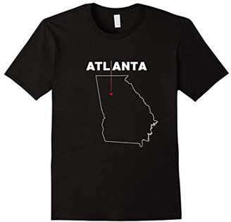 ATLANTA T-shirt with Heart | We Love ATL