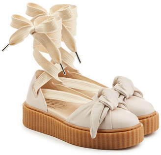 FENTY PUMA by Rihanna Leather Creepers with Laces