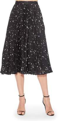 Parker Jacinta Pleated Midi Skirt