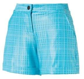 Puma Plaid Golf Shorts