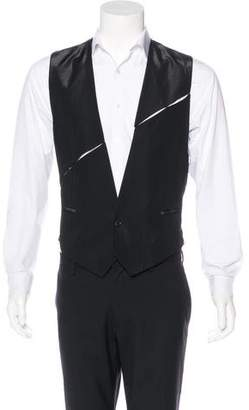 Christian Dior Wool Cut-Out Vest