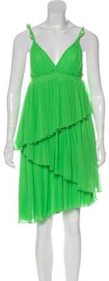 Jean Paul Gaultier Sleeveless Mini Dress green Sleeveless Mini Dress