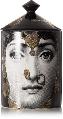 Fornasetti L'eclaireuse Scented Candle, 300g - Black