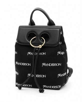 J.W.Anderson Black Cloth Backpacks