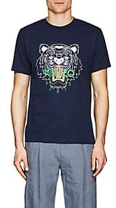 Kenzo Men's Tiger Logo Cotton Jersey T-Shirt - Navy