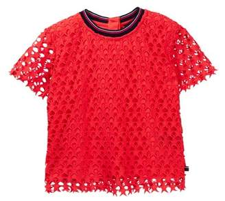 Tommy Hilfiger Star Lace Tee (Big Girls)