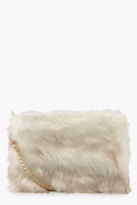 Faux Fur Shoulder Bag - ShopStyle UK 73997f01cd3cf