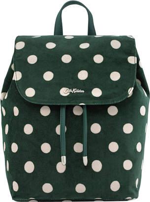 Cath Kidston Button Spot Smart Velvet Backpack