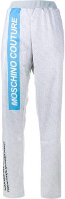 Moschino pill packet track pants