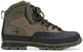 Timberland lace-up trecking boots