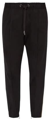 Dolce & Gabbana Logo Side Stripe Track Pants - Mens - Black