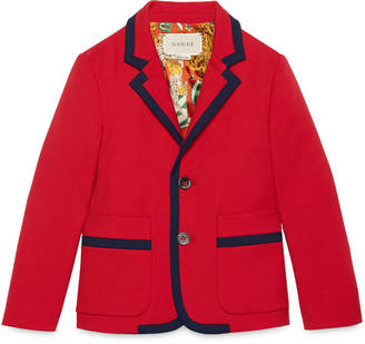 Children's stretch twill jacket $660 thestylecure.com