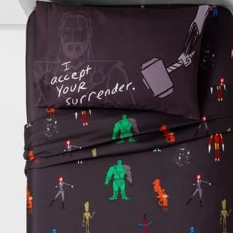Marvel Justin Harder Sheet Sets Black