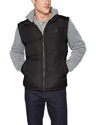 U.S. Polo Assn. Men's Vest with Detachable Sleeves