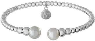 Majorica Simulated Pearl Bead Cuff