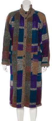 Missoni Wool-Blend Long Coat
