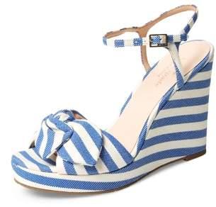 Kate Spade Janae Knot Platform Wedge Sandal