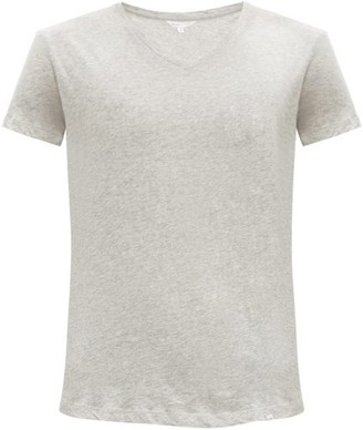 Orlebar Brown Ob V Cotton Jersey T Shirt - Mens - Grey