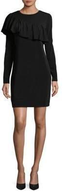 MICHAEL Michael Kors Merlot Long Sleeve Dress