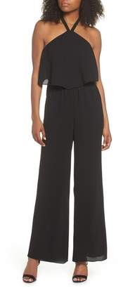 Ali & Jay Meet Me at VBW Halter Jumpsuit