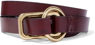 Andersons Anderson's - Leather Belt - Dark brown