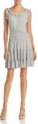 Rebecca Taylor Ruffled Jersey Dress