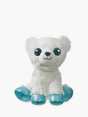 Aurora World Sparkle Tales Igloo Polar Bear Soft Toy