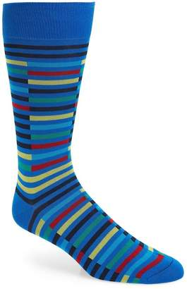 Pantherella Broken Stripe Socks