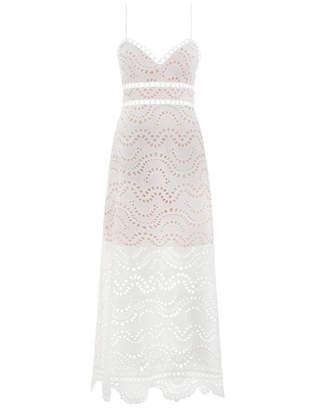 Zimmermann Jaya Wave Bodice Dress
