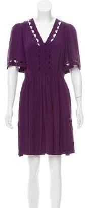 3.1 Phillip Lim Silk Cutout Dress
