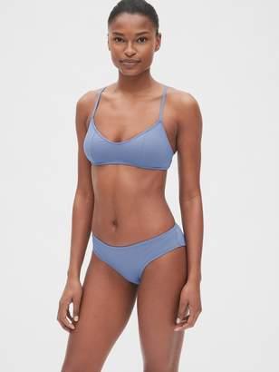Gap Plunge Bralette Bikini Top
