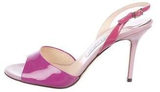 Jimmy Choo Bicolor Slingback Sandals